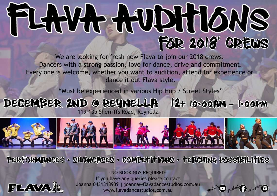 FLAVA AUDITIONS A3 copy